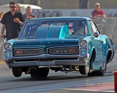Blue street legal GTO ... big, bigger, beast!