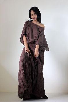 Maxi Dress Tie Dye by Nuichan #etsy #fashion #handmade