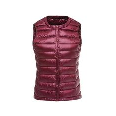 5c05310af9308 Wipalo Duck Down Vest 2018 Autumn Winter Warm Vests Plus Size Light weight  Casual Vest Solid Sleevless Jackets Waistcoat