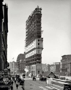 Time Square, 1903, boy how things change
