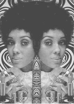 Charlene Dash for AVON circa 1968.