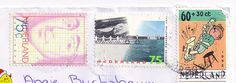 Netherlands Stamps by Mailbox Happiness-Angee at Postcrossing, via Flickr