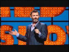 one of the best comedians ever! Tommy Tiernan, Ross Noble, Jon Richardson, Jo Brand, Michael Mcintyre, Russell Howard, Jimmy Carr, Bill Bailey, John Bishop