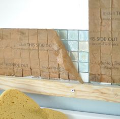 #1 ~ DIY peel back paper