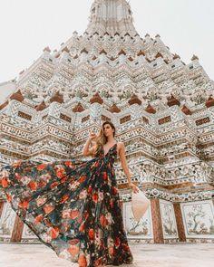 Esse lugar, esse vestido, essa foto ❤️ Obrigada, Tailândia por estar nos proporcionado memórias fantásticas! P