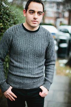 crochet men sweater pattern