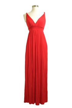 effe5ed11771 Red Maxi Dress — Ellis and Wiles