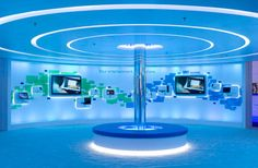 Microsoft at CES Exhibition design 9 25 Innovative 3D Exhibition Designs, Display Stands & Booth Collection