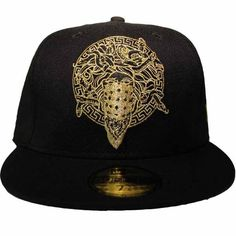 Crooks & Castles Mens Woven Fitted Cap - Bandusa Black. Buy it here: http://everythinghiphop.com/crooks-and-castles-mens-woven-fitted-cap-bandusa-black.html