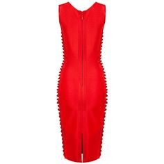 Bandage Sexy Polyester Midi Dress (295 BRL) ❤ liked on Polyvore featuring dresses, red midi dress, red checkered dress, red checked dress, red bandage dress and sexy bandage dresses