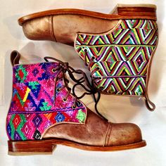 Adore Teysha boots. Can't decide if I can pull these off. I just want everything Guatemalan....