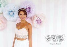 Pom Pom Blossom - The Creative Wedding Fair by Etsy Manchester - Wedding Decor - Silk Pom Pom Flowers