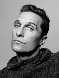 Matthew McConaughey (1969) - American actor - Photo Peter Hapak