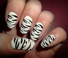 Easy Fashionable New Years 2013 Nail Art Designs To Master Will Turn Your Nails Into Real Jewelries