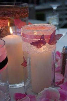 Manualidades Bonitas: Ideas para XV Años con Tema de Mariposas