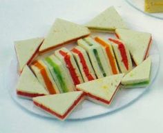 Victorian tea sandwiches