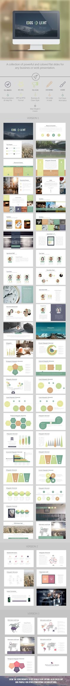Edos Light Business PowerPoint Template / Theme / Presentation / Slides / Background / Power Point