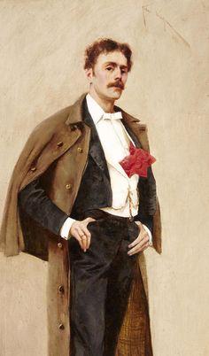 Arthur Wardle - Self Portrait
