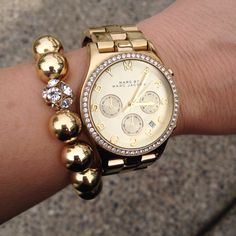 All gold #armparty