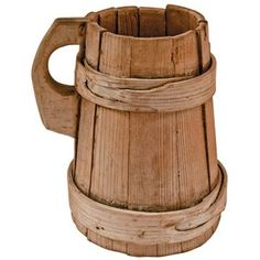 medieval wooden tankard - Google Search