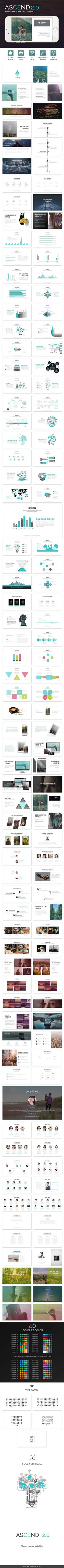 Ascend 2.0 - Minimal Powerpoint Template. Download here…