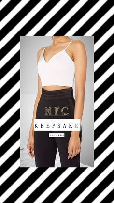 Keepsake The Label Women's Melody Sleeveless Bustier Crop Top Crop Top Outfits, White Outfits, Simple Outfits, White Bustier Top, Keepsake The Label, White Tops, Crop Tops, Womens Fashion, White Rave Outfits
