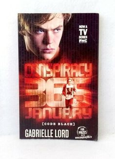 January by Gabrielle Lord Conspiracy 365 series Code Black used paperback novel