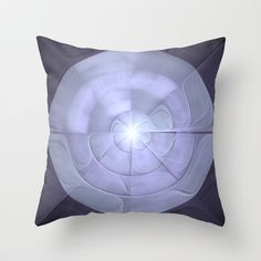 NeonSeries026 Throw Pillow by fracts - fractal art - $20.00