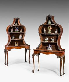 Pair of Late 19th Century Display Tables - Windsor House Antiques
