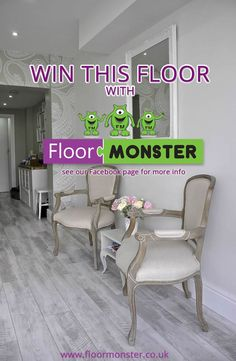 If you love vintage, you'll love this Grand Designs Limited Edition Whitewashed Flooring...for your chance to win 20sqm then check out our Facebook page www.floormonster.co.uk