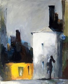 Alzheimer's depicted: Memory fades, but life goes on 21st Century Artists, Memories Faded, Post Impressionism, The Way Home, Life Goes On, Love Painting, Cubism, Urban Landscape, Cool Artwork