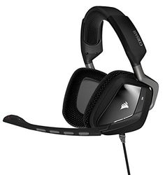 Shop CORSAIR Gaming VOID PRO RGB USB Wired Dolby Surround Sound Gaming Headset Carbon black at Best Buy. Find low everyday prices and buy online for delivery or in-store pick-up. Best Gaming Headset, Ps4 Headset, Gaming Headphones, Gaming Computer, In Ear Headphones, Computer Gadgets, Surround Sound, Usb, Microphone For Sale