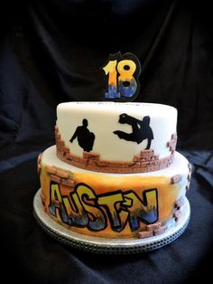 Graffiti Cake - Cake by Theresa - CakesDecor