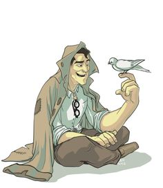 The Man with the Birds (Medic) by PrecosiousChild.deviantart.com on @DeviantArt