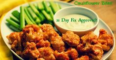 Containers: 1 yellow 1 green 1 red Ingredients: 1/2 head cauliflower, crumbled into bite size pieces 1/2 cup almond flour 3/4 cup a...