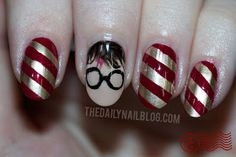 Harry Potter Nails & more nerdy manicures