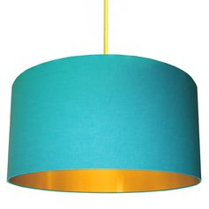 Beautiful handmade drum lampshades using 100% cotton mounted on to a flame retardant PVC lining with a gold lining.Welcome to Love Frankie where all of our items are lovingly handmade to order by the Love Frankie team and orders will be in your hands 7-10 working days from receipt of payment. All shades are suitable for ceiling pendants, table and floor lamps. Specifications: All shades are made using a professional flame retardant PVC. Recommended Bulb: 60w or 15w Energy saver. They are ...