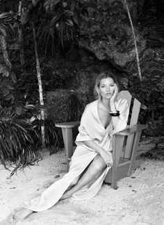 From statement jewelry to Kate Moss on the beach, here's a look at an editor's spring mood board: