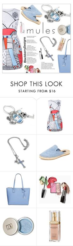 """""""Spring Trend"""" by shambala-379 ❤ liked on Polyvore featuring Steven, Kate Spade, Elizabeth Arden and MAC Cosmetics"""