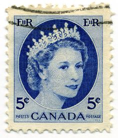 Vintage Canadian stamp #mail #stamp