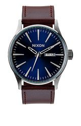 Priorities - Sentry Leather | Men's Watches | Nixon Watches and Premium Accessories