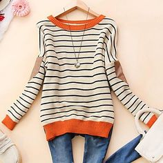 Fashion Stripe Sweater