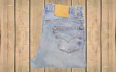 Vintage Levis 550 Jeans USA Made Mens Relaxed Fit Tapered Leg Faded Stonewash…