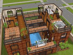 House 29 level 3 #sims #simsfreeplay #simshousedesign