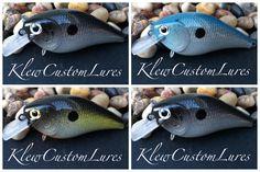 Custom Painted Lure - Shad Series