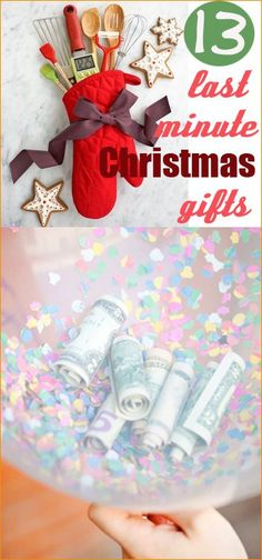Last Minute Christmas Gifts.  Check everyone off your list with these easy Christmas gift ideas.  Great gifting ideas for any age.