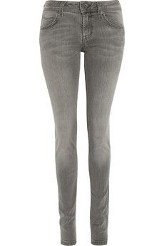 Burberry Brit Power Stretch low-rise skinny jeans | THE OUTNET