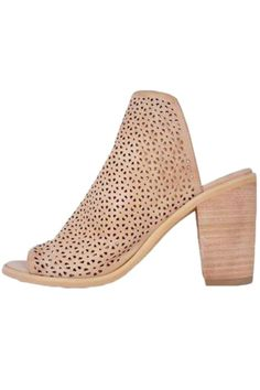Slide into Ali for the ultimate year round heel. Made from leather, and featuring a 3.5-inch heel, this perforated mule was made for taking your 9-5 look to the next level. Wear these leather mules with trouser for the office and a little black romper for a night out. Heel height: 3.5 inches     Ali Slip On Heel by Rebels. Shoes - Pumps & Heels - Open Toe Iowa