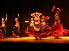 The best Tribal Belly Dance yet - Fat Chance Belly Dance at Cues & Tattoos 2012
