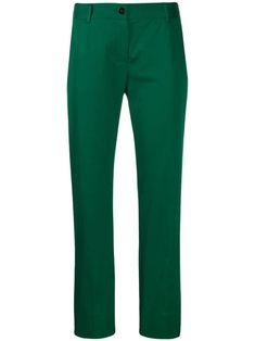 Dolce & Gabbana Cropped Chino Trousers In Green Everyday Italian, Cropped Chinos, Italian Lifestyle, Tailored Trousers, World Of Fashion, Women Wear, Clothes For Women, Model, Cotton